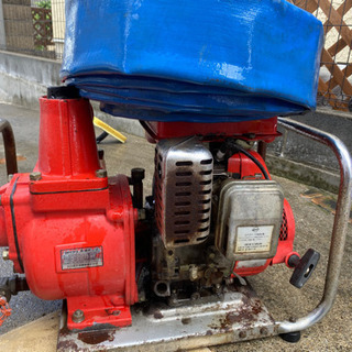 シバウラエンジンポンプEP80高速ポンプ4.5馬力