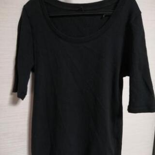 UNIQLO 半袖 BLACK M レディース