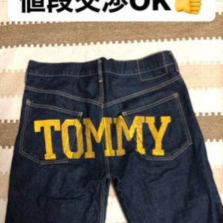 【値段交渉OK】 TOMMYのデニムハーフパンツ