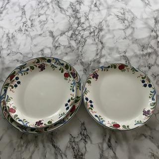 イギリス食器 大皿一枚 中皿二枚セット