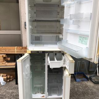 シャープ 冷蔵庫425L 中古  - 生活雑貨