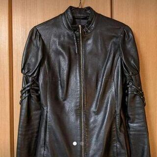 レディース ラムレザーライダースジャケット Mサイズ