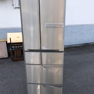 即決 冷蔵庫 415L ファミリー用 自動製氷機能 中古 現状 ...