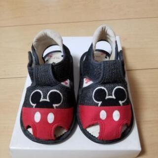 サンダル 靴 13.0cm ミッキー