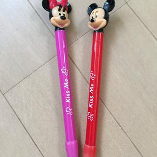 ミッキー&ミニーボールペン【ジャンク】