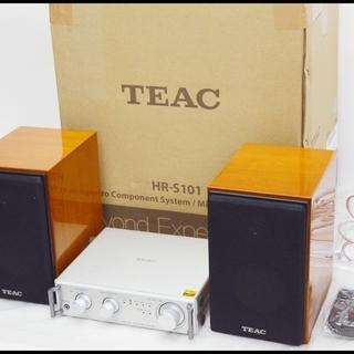中古 TEAC ハイレゾ対応 マイクロコンポ HR-S101 (...