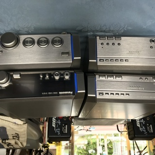 パナソニック ST-HD75 イルミが綺麗なミニコンポ
