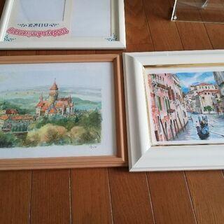 写真フレーム、ヨーロッパの絵