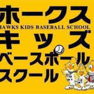 ~ホークスキッズスクール八幡校スタッフ募集!!(男女不問、未経験...