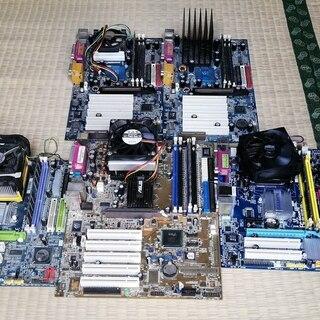 ジャンク PCパーツセット HDD マザーボード