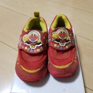 シューズ 靴 14.5cm アンパンマンの画像