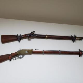 ライフル模型レプリカ2丁