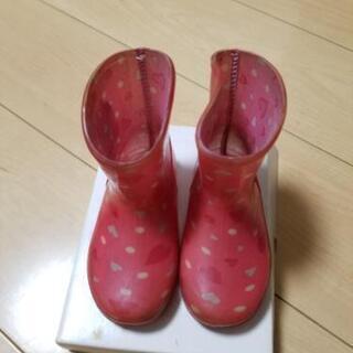 レインブーツ 長靴 14.0cm ミニー