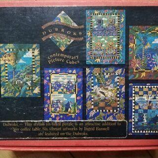 決まりました。ブロックパズル オーストラリア土産 剥がれてきてる...