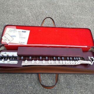 スズキ 鈴木楽器製作所 大正琴 特製松 SHM-12 HARP ...