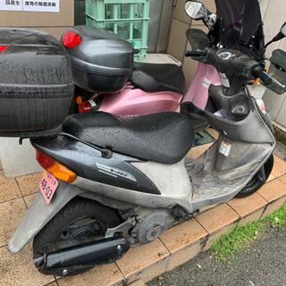 SUZUKIアドレスv125g  通勤快速