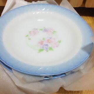 未使用✨シェル状 深型の洋皿5枚セット 直径20cm