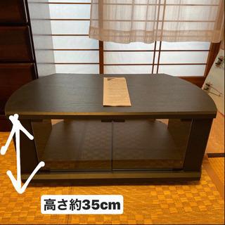 可動式 ローラー付きテレビ台