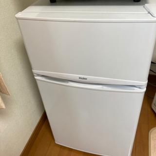 新品同様ハイアール冷蔵庫 JR-9BDK 86L 4月購入