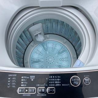 新品同様 アクア全自動洗濯機 5.0Kg