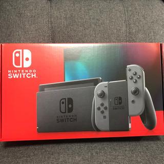 【新品・未使用】任天堂Switch 本体 グレー 店舗印有