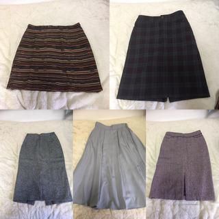 春秋冬 スカート 5枚セット ユニクロ アメリカンホリック等