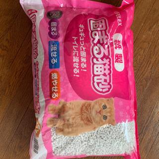 猫トイレ+猫砂27L 美品