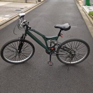 自転車 MTB 26インチ