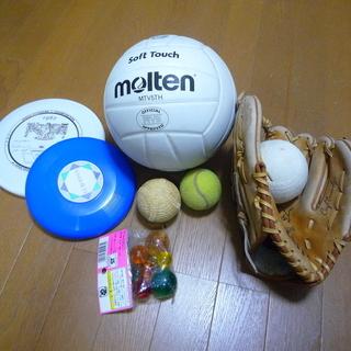 スポーツ用品上げます。