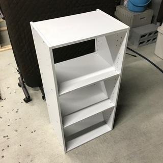 3段ボックス棚※背面板なし