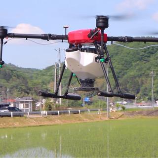 農業用ドローンで除草剤・農薬散布 【再掲載】
