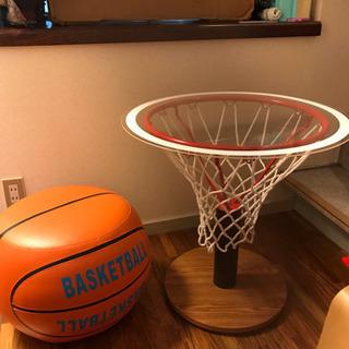 バスケ 椅子 テーブル「商談中」
