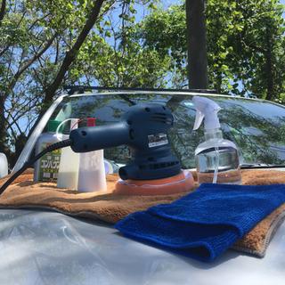 車 ポリッシャー コーティング 磨き 研磨 コンパウンド5種類 用品 用材 道具類一式 − 高知県