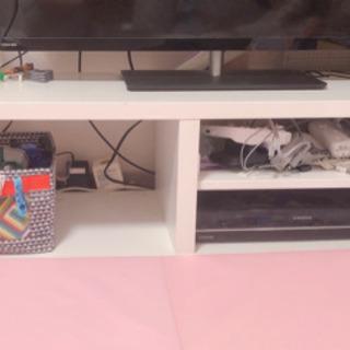 【お取り引き終了】IKEA 白 テレビボード 価格交渉お気…
