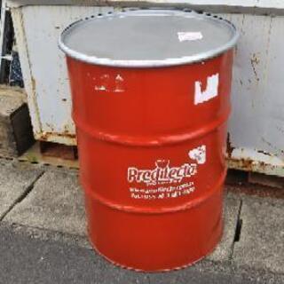 輸入濃縮ジュースのドラム缶、アイデア次第でご活用ください、宅配可能