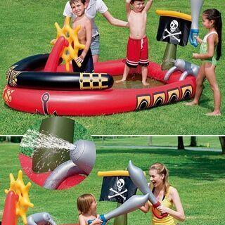 海賊船ビニールプール