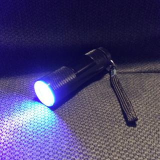 投稿❗️早い者勝ち‼︎ LED UVポータブル ハンド ライト 美品