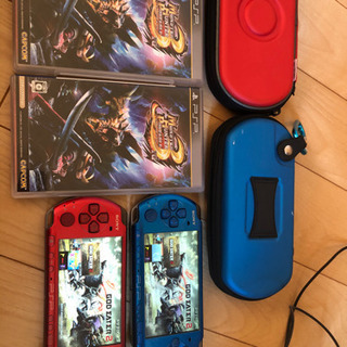 【お取引決まりました】PSP本体 2台セット plusソフト