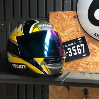 中古ヘルメット SUOMY DUCATIコラボモデル