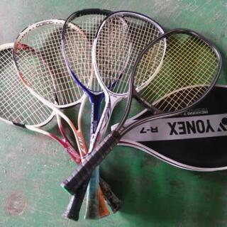 使用感ありテニスラケット