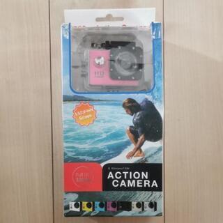 ACTION CAMERA ピンク アクション カメラ