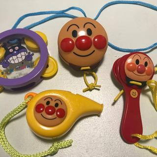 アンパンマン  バイキンマン おもちゃ 楽器