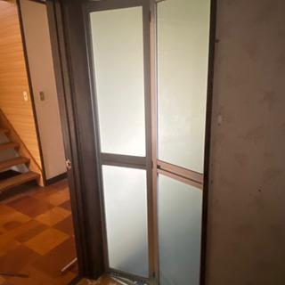 浴室ドア 6月2日ほどから解体です。
