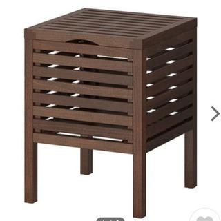 イケア IKEA モルゲル MOLGER 貴重なダークブラウン ×9
