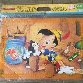 チャイルドパズルのかわいいピノキオのパズルで3〜6歳の40ピース