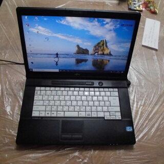 富士通ノートパソコンA572/F  Windows10pro  ...
