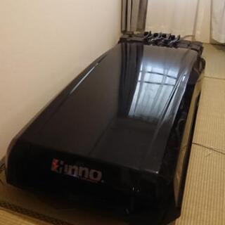 INNO リッジトランク BR460 黒 ワイド ルーフボックス