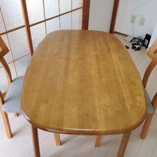 テーブル 椅子2脚