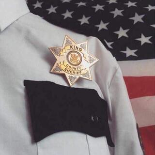 ウォーキング・デッド KING COUNTY SHERIFF バッジ