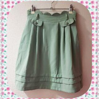♡PATTERN fiona  スカート スカラップ&フリル♡